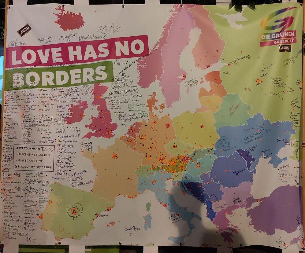 Love has no borders!